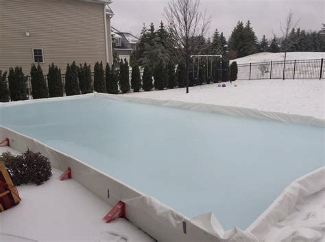 diy backyard ice rink student turned entrepreneur develops diy backyard ice rink