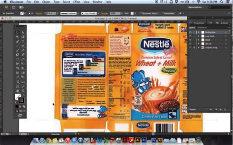 package design templates illustrator packaging template tutorial using illustrator cs6