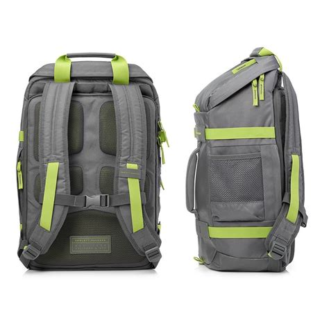 Hp 15 6 Inch Odyssey Backpack Gray hp odyssey l8j89aa backpack for 15 6 inch laptop grey