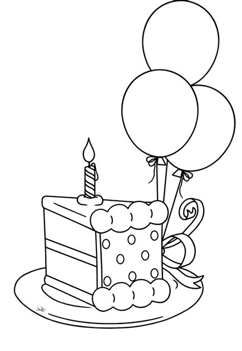 cake slice coloring pages coloring pages