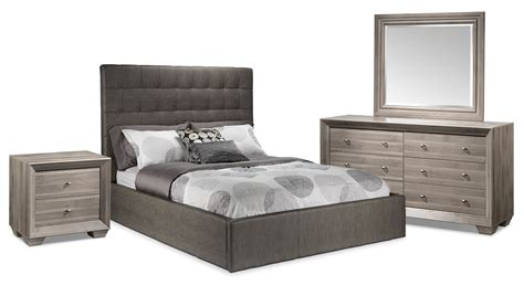 5 piece queen bedroom set franklin 5 piece queen bedroom set taupe leon s