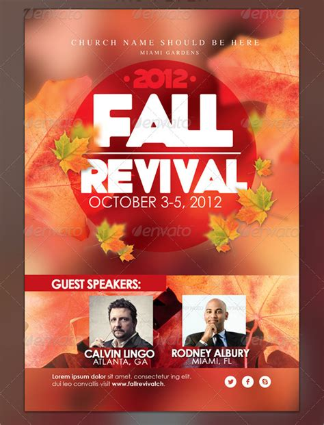 free church revival flyer template free church revival flyer template choice image template