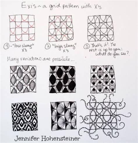 zentangle pattern directions zentangle pattern exis zentangle pinterest zentangle