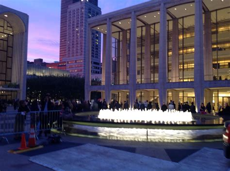 lincoln center new york lincoln center for the performing arts new york