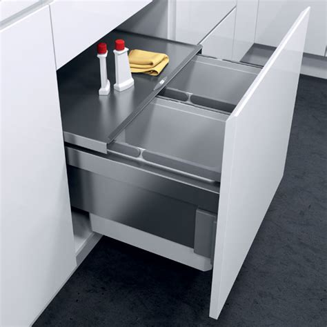 kitchen cabinet recycle bins oeko liner pull out waste bin