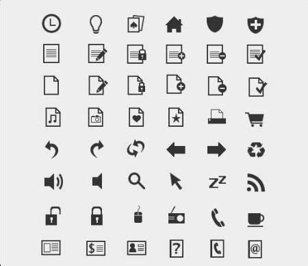 iphone top bar icons free best minimal icon sets top design magazine web