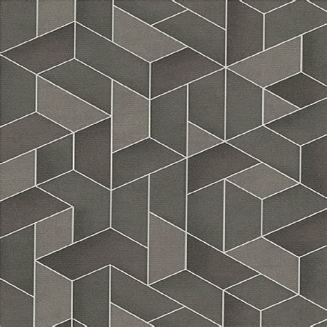 Kitchen Accessories Brands - erismann levante 3d geometric textured embossed vinyl wallpaper