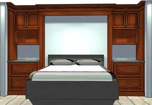 who knew semi custom cabinets could be used to build a bed
