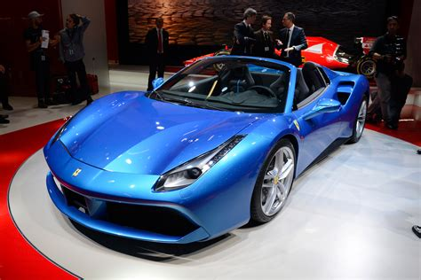 ferrari lifted lid lifted on ferrari 488 spider at frankfurt show auto