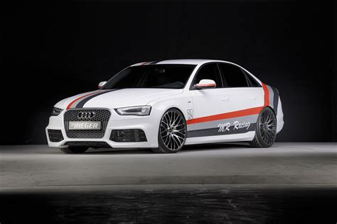 Audi A4 2013 Facelift by 2013 Audi A4 B8 Facelift Tuned By Rieger