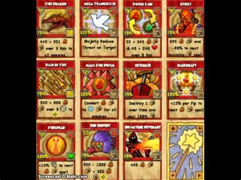 Wizard101 Gift Card - wizard 101 all fire class cards showcase spoilers king t 2013 youtube