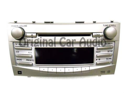 changer format cd en mp3 toyota camry jbl radio stereo 6 disc changer mp3 cd player