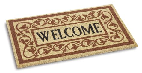 Welcome Mats by Vico Large Welcome Coir Door Mat