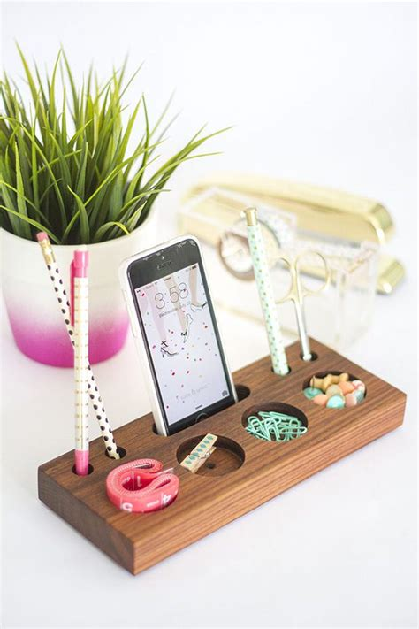 Diy Desk Organizer Diy Desk Organizing Ideas Projects Decorating Your Small Space