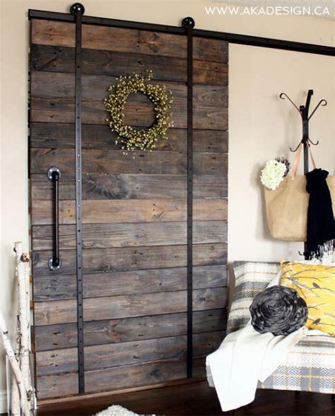 Do It Yourself Sensational Sliding Doors Decorating Your Barn Door Tutorial