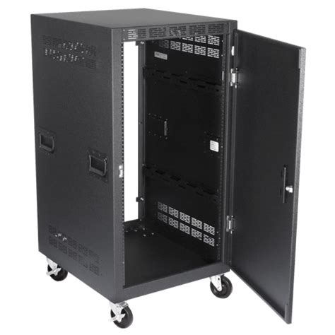 Atlas Rack atlas rx21 30sfd 30 inch 21ru mobile equipment rack