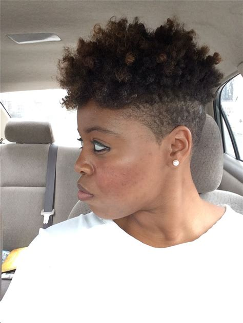 curly in back featered on the sides shaved sides curly fro hair pinterest curls the o