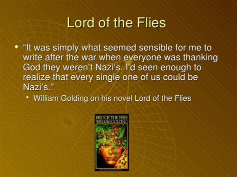 religious themes in lord of the flies lotf ppt
