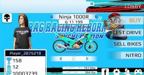kumpulan game drag racing mod apk kumpulan drag racing bike edition mod drbe lengkap