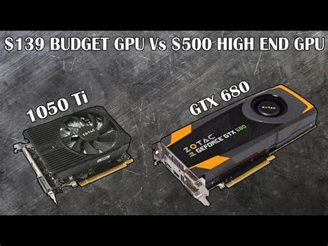 can the $139 gtx 1050 ti outperform a $500 graphics card