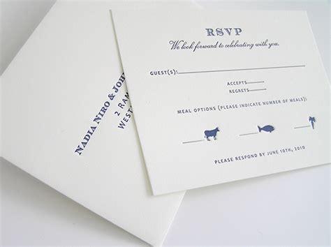rsvp wedding invitations vancouver wedding invitation letterpress on behance