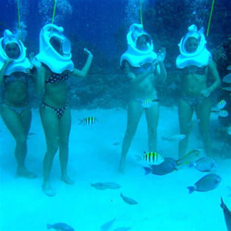welcome to the sea trek best underwater trip in grand cayman