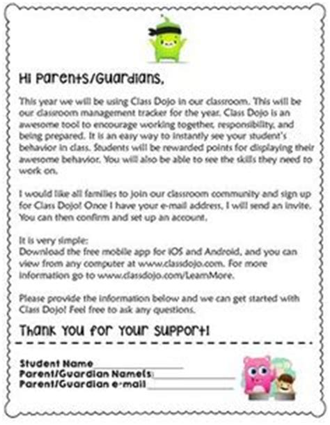 Parent Letter About Class 1000 Ideas About Parent Letters On Class And Genius Hour
