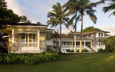 plantation style architecture hawaii residence kauai tropical exterior other