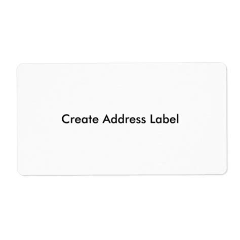 create your own label template custom card template 187 make your own address labels free