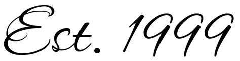est 1999 tattoo quot est 1999 quot script free scetch