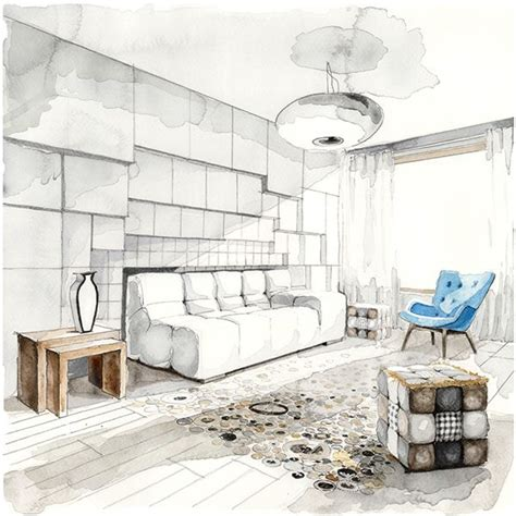watercolor room 25 best ideas about interior design sketches on interior sketch architectural