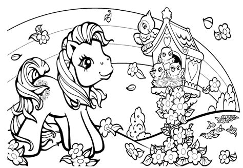 coloring pages my pretty pony cutecoloring com cute coloring pictures