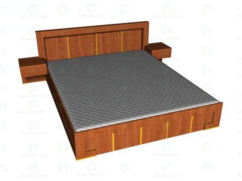 bed 180 x 220 3d modella letto 180x220 dal produttore vox modern in
