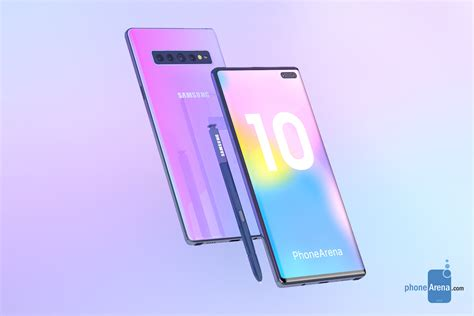 Samsung Note 10 by The Galaxy Note 10 Could Be Sold In These Six Colors