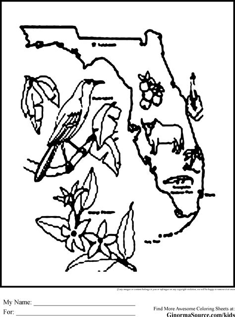 Florida Coloring Pages florida coloring pages coloring pages