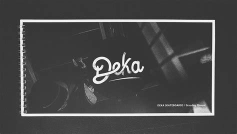 Deka Poster C deka skate on behance