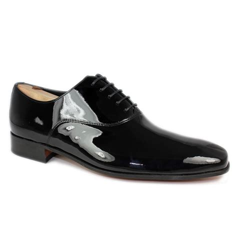 dress shoes barker dominic mens formal patent dress shoe black