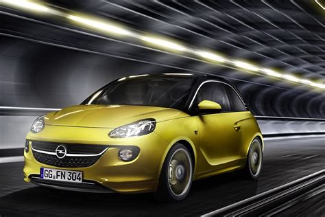 opel yellow opel adam price starts at 11 500 euros autotribute