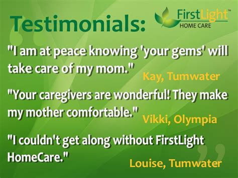 olympia senior care homecare services in washington