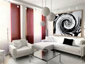 Black And Red Curtains For Living Room by Cortinas Modernas Para Salon 24 Dise 241 Os Originales