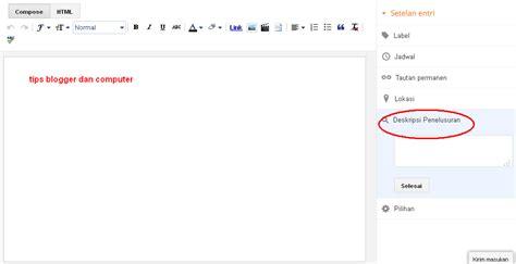 cara membuat blog agar til di google cara agar postingan masuk 10 besar google jovennio