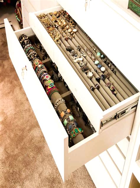 How To Store Jewelry In A Drawer by Built In Jewelry Drawers Design Ideas
