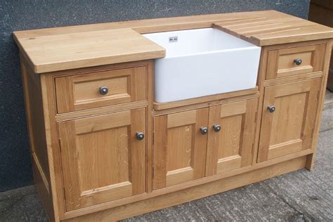 kitchen sink base units oak belfast sink base unit