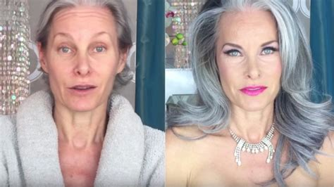 today show makeover older woman before and after photos that show the magic of makeup