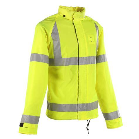 neese ansi 3 police motorcycle rain jacket