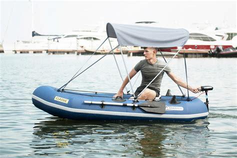 aqua marina classic advanced fishing boat with electric motor t 18 thuyền bơm hơi 3 người k 232 m động cơ aqua marina classic