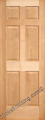 maple doors maple interior 6 panel doors