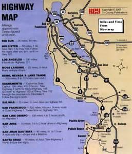 map monterey california montery peninsula map map