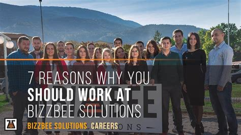 7 Reasons Why Is For You by 7 Reasons Why You Should Work At Bizzbee Solutions