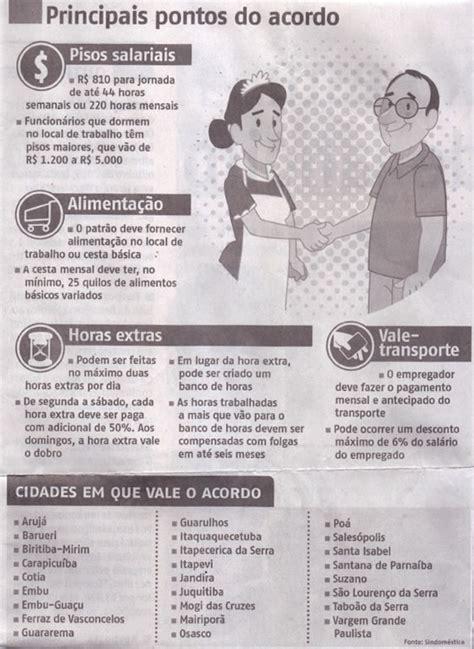 salario das empregadas domesticas para o ano de 2016 salario das empregadas domesticas para o ano de 2016